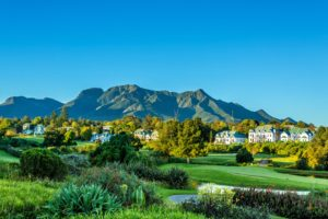 Overlooking Fancourt Resort, The Garden Route, South Africa