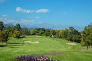 Overlooking the Outeniqua Course at Fancourt Golf Resort