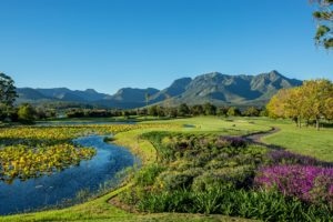 View of Fancourt Resort, The Garden Route, South Africa, Outeniqua Golf Course