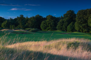 Looking down the fairway of the 4th hoe, Castlemartyr Resort, Cork, Ireland
