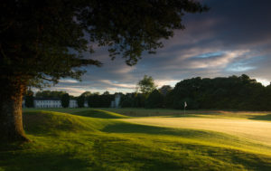 Looking at the green on the 6th hole green, Castlemartyr Resort, Cork, Ireland