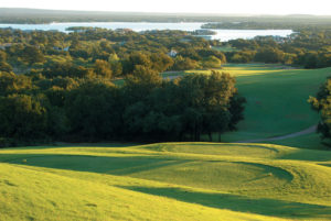 View of the 10th hole on the Apple Rock Course, Horseshoe Bay Resort, Texas