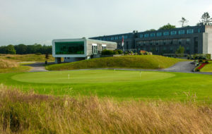 View of the clubhouse at Castlemartyr Resort, Cork, Ireland