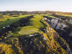 View of the Fairways at Cape Kidnappers, Hawke's Bay, New Zealand