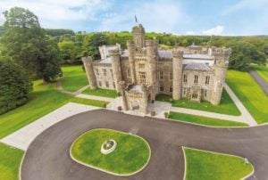 Aerial photo of Hensol Castle, The Vale Resort, Wales