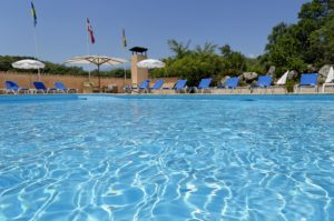 Image of the resort pool at Chateau De La Bégude , French Riviera, France