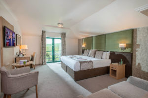 The rooms at the resort have balconies and ample size, The Vale Resort, Wales