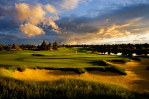 Image of the Pronghorn Nicklaus designed golf course,