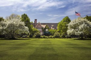 Image of the lawn in front of the American Club at Destination Kohler, Wisconsin, USA