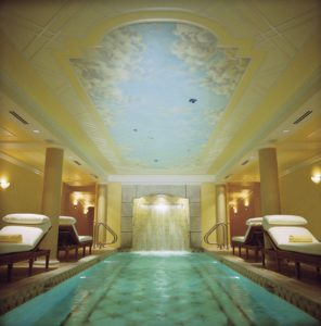 Image depicting the Relaxation Pool at the Kohler Waters Spa, Destination Kohler, Wisconsin, USA