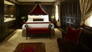 Image depicting the King Bed in the American Club King Room, Destination Kohler, Wisconsin, USA